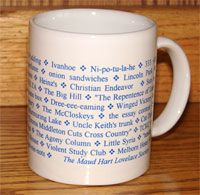 Mug with quotes from Betsy books