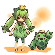 Cacnea Photo:  This Photo was uploaded by Michi_Neko. Pokemon Gijinkas.