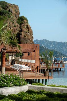 D-Maris Hotel , exotic minimalism at the Datca Peninsula