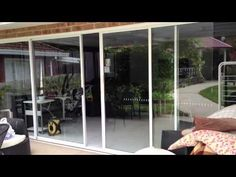 Automatic Sliding Doors: Installation videos for Autoslide Automatic Door Systems on residential sliding glass doors, cavity doors, pocket doors &. Sliding Barn Door Hardware, Sliding Glass Door, Glass Doors, Automatic Sliding Doors, Sliding Door Window Treatments, Pocket Doors, Patio Doors, Home Automation, Windows And Doors
