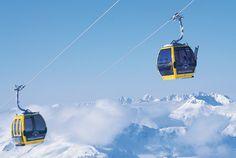 Skicircus Saalbach Hinterglemm Leogang. Skifahren und Snowboarden im größten Skigebiet Österreich