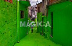 Coletivo Boa Mistura - Luz nas Vielas - favela Brasilândia, SP