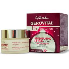 GEROVITAL H3 EVOLUTION, Regenerating Lifting Cream Night Care with Superoxide Dismutase (Anti-Aging Super Enzyme) 30  * Click on the image for additional details.