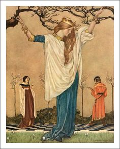 Le morte Darthur. Illustrator William Russell Flint 37