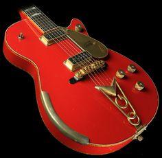 Gretsch Custom Shop Masterbuilt Stephen Stern '57 Penguin Heavy Relic Electric Guitar Dakota Red