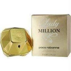 Paco Rabanne Lady Million By Paco Rabanne Eau De Parfum Spray .34 Oz Mini In A Drawstring Bag