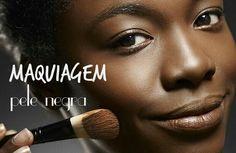 """Hoje o assunto de maquiagem no blog CharmeCharmosa é um dos assuntos tão pouco abordado, como escolher as tonalidades de maquiagem corretas para a pele negra. Corre lá no blog e dá um """"joinha"""" se você gostar!   #blogcharmecharmosa #blogger #blog #make #makeup #makeupideias #maquiagem #eumaquio #mua #makeupartist #skinshades   www.charmecharmosa.wordpress.com"""