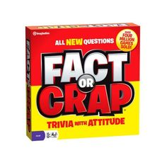 Imagination Fact Or Crap Board Game « Game Searches