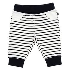 Chicco® Newborn Stripe Pant - White/Black