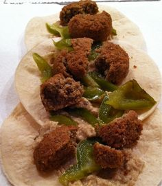 Falafel wraps [Hungry Hungry Hippie]