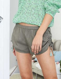 Aerie Wanderlust Shortie, Camo Green | Aerie for American Eagle