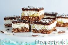 Nepečený koko-čoko koláč - FitRecepty