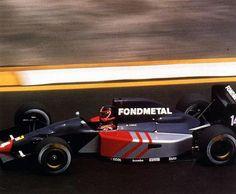 Olivier Grouillard, Mexico 1991, Fondmetal F1