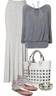 """""""MAXI SKIRT CONTEST"""" by lisa-holt ❤ liked on Polyvore"""