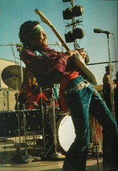 Jimi Hendrix Santa Clara Folk Rock Festival 1969