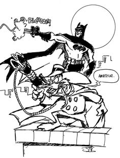 Batman and Darkwing Duck