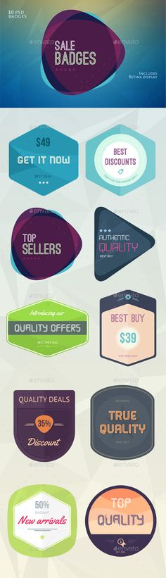 Flat Flavour Sales Badges Template PSD. Download here: http://graphicriver.net/item/flat-flavour-sales-badges/15599982?ref=ksioks