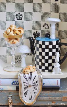Alice in Wonderland tea party Sea buckthorn marinated apple pastries by @Asta Eigelyte Gunnarsson