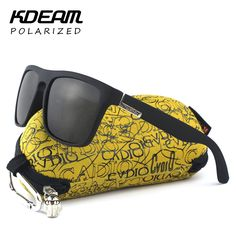 Highly Recommended KDEAM Mirror Polarized Sunglasses Men Surfing Sport Sun Glasses Women UV gafas de sol With Peanut Case KD156 Isn`t it awesome? #shop #beauty #Woman's fashion #Products #Classes