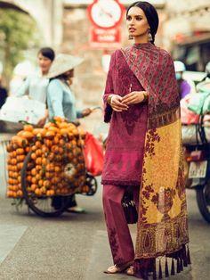 Zara Shahjahan Embroidered Lawn Collection 2017 - Gul-Bahar