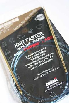 Addi Turbo Circular Knitting Needles by SKACEL 47 Size 6