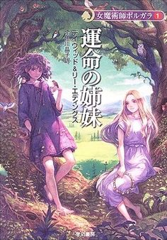 The Belgariad series by David Eddings, Japanese covers. Garion and Ce'Nedra I'm assuming.