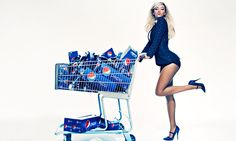 Beyoncé wearing our Sachin + Babi jacket in the new Pepsi campaign (jacket arrives next month, stay tuned!)!