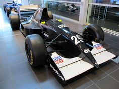 Sauber has come a long way since their Formula One debut back in 1993. This is a picture of their C12 F1 car they raced in their debut season.