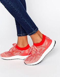 adidas+Ultraboost+Uncaged+In+Bright+Pink