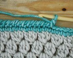 Bobble stitch infinity scarf - Crochet Tutorial. Nederlandse handleiding en meer haakhandleidingen.