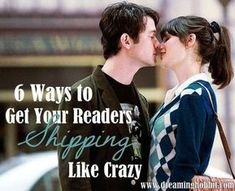 """You want your readers to be shipping your characters so hard they can barely stand it. They simply have to get together or nothing is worth it anymore. It's way more fun if readers ship characters on their own and not because they were forced to. I don't have a formula for this, but I do have a few tips."""
