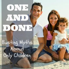 How many children to have is a very personal decision. Some couples immediately know they want a few kids, while others know they're done after just one. In recent years, having an only child is becoming more and more common. According to the National Center for Health Statistics, families wit