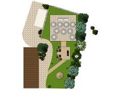 floor plan for a restaurant