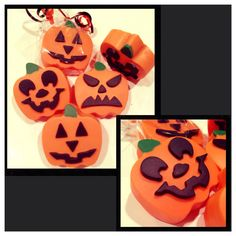 Halloween pumpkin chocolate covered oreos  by Sparklesbaby on Etsy