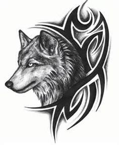 The Best Tribal Wolf Tattoos (Gallery Hawaiianisches Tattoo, Head Tattoos, Samoan Tattoo, Fake Tattoos, Tribal Tattoos, Tattoo Flash, Tattoo Quotes, Mandala Tattoo, Girl Tattoos