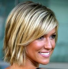 Super cute, and a good transition to grow out hair from a severe angle.