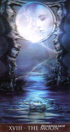 Arcanum tarot the Moon