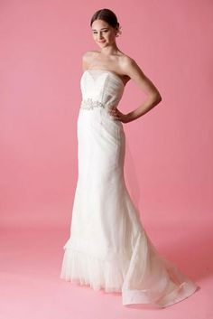 Badgley Mischka Louisa Wedding Dress $899.00  ~ Hustle Your Bustle