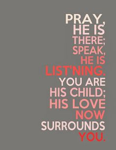 Free LDS Printables: A Child's Prayer-- Primary Song, Free Printable #quotes