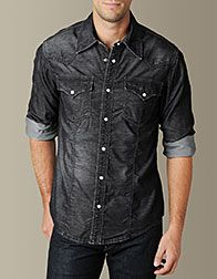 True Religion Mens Shirts - Mens Western Shirts