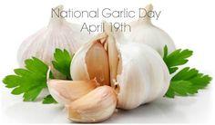 Julia's Simply Southern: National Garlic Day - April 19th