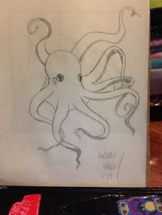 An Octopus by hailee williams