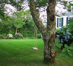 Edgartown Tree Swing by The T-Cozy, via Flickr