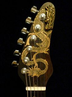 """Custom Made Blueberry """"Fierro"""" Carved Electric Guitar"""