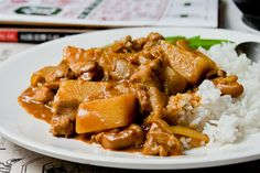 Curry recipe for the winter :)