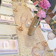 Bubbly Bar, Blush, Pink & Gold Bridal/Wedding Shower Party Ideas | Photo 6 of 39 | Catch My Party