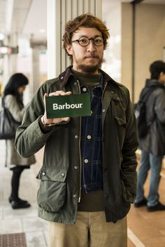 Explore the barbour collection at Harrods. Barbour Wax Jacket, Barbour Mens, Barbour Beaufort, Japan Fashion, Jacket Style, Denim Fashion, Gq, Casual Looks, Menswear