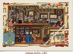 les métiers moyen-âge – RechercheGoogle Recherche Google, Carousel, Fair Grounds, Age, Painting, Middle Ages, Painting Art, Paintings, Carousels