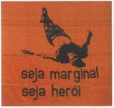 seja marginal seja heroi by the brazilian artist helio oiticica Art Manifesto, Silkscreen, 60s Art, Web Design, Robert Rauschenberg, Thing 1, Art Archive, Art Database, Conceptual Art
