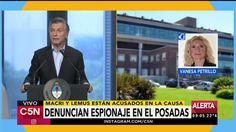 Denuncian a Macri y a Lemus por presunto espionaje en el Posadas